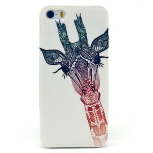 Giraffe Pattern Hard Plastic Cover for iPhone 5s 5