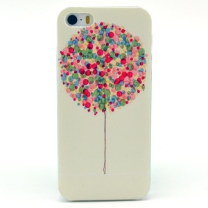 Colorful Balloon Pattern Plastic Back Shell for iPhone 5s 5
