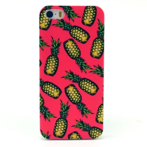 Pineapple Pattern Plastic Back Shell for iPhone 5s 5