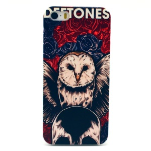 Rose & Owl Plastic Back Case Shell for iPhone 5s 5