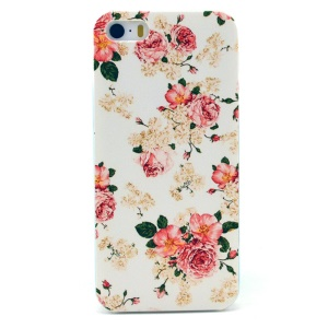 Blooming Peony Plastic Back Cover Shell for iPhone 5s 5