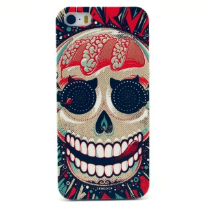 Scary Skull Plastic Protective Shell for iPhone 5s 5