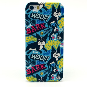 WOOF BARK Plastic Protective Case for iPhone 5s 5