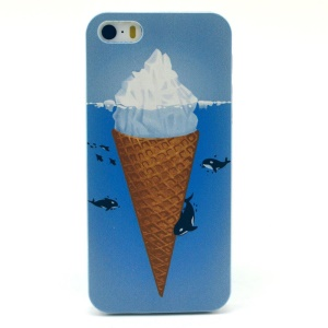 Icecream Plastic Protective Cover for iPhone 5s 5