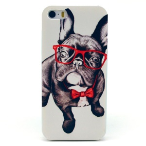 Happy Dog Plastic Protective Shell for iPhone 5s 5