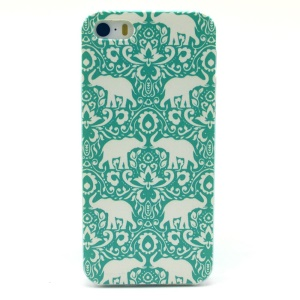 Elephants Plastic Back Cover for iPhone 5s 5