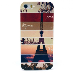 Eiffel Tower Plastic Back Cover for iPhone 5s 5