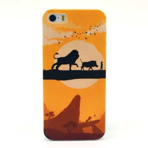 Animals & Sunset Plastic Hard Shell for iPhone 5s 5