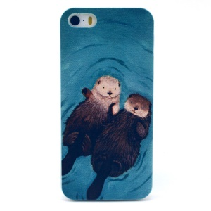 Two Squirrels Plastic Hard Case for iPhone 5s 5