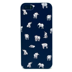 White Elephants Hard Plastic Shell for iPhone 5s 5