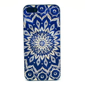 Mandala Pattern Hard Plastic Cover for iPhone 5s 5