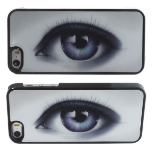 3D Visual Effect Soulful Eye Hard Plastic Cover for iPhone 5s 5
