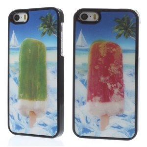 Dynamic 3D Effect Cool Popsicle Plastic Hard Shell for iPhone 5s 5