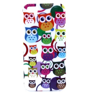Multiple Little Owls IMD Glossy Plastic Back Case for iPhone 5s 5