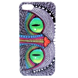 Adorable Owl IMD Glossy Plastic Back Shell for iPhone 5s 5
