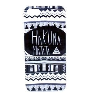 HAKUNA MATATA IMD Glossy Plastic Back Case Cover for iPhone 5s 5