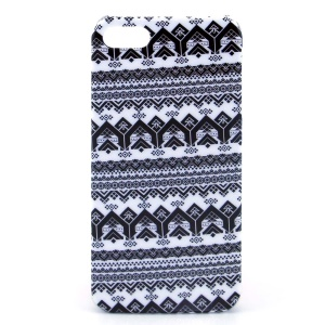 IMD Glossy Plastic Hard Cover for iPhone 5s 5 - Tribal Pattern