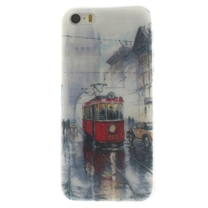 Retro Bus Super Slim TPU Gel Case for iPhone 5s 5