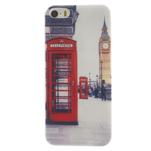 Red Telephone Box Super Slim TPU Case for iPhone 5s 5