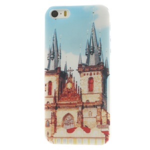 Prague Square Super Slim TPU Shell Case for iPhone 5s 5