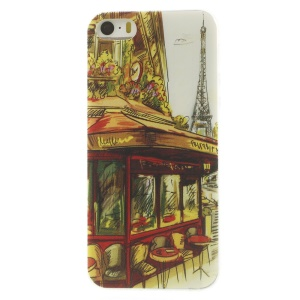 Famous Eiffel Tower Super Slim TPU Case Shell for iPhone 5s 5