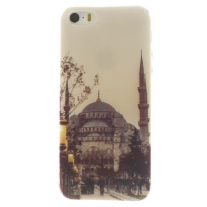 Istanbul Blue Mosque Pattern Super Slim TPU Shell for iPhone 5s 5