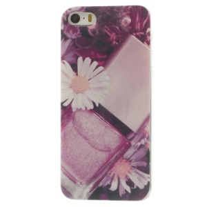 Perfume & Flowers Super Slim TPU Shell Cover for iPhone 5s 5