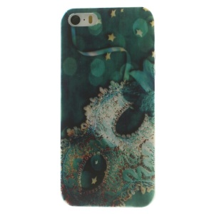 Lace Eye Mask Super Slim TPU Cover Accessory for iPhone 5s 5