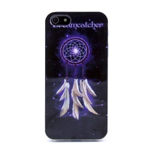 Protective TPU Gel Back Cover for iPhone 5s 5 - Sparkle Dream Catcher
