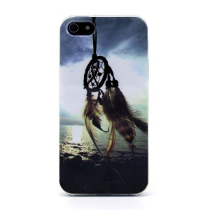 Protective TPU Gel Skin Case for iPhone 5s 5 - Dream Catcher & Sea