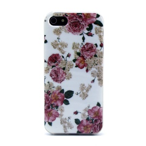 Protective TPU Case Cover for iPhone 5s 5 - Spray Roses