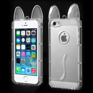 Rabbit Shaped Soft TPU Case for iPhone 5s 5 - Transparent