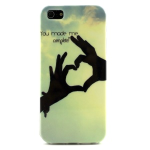 You Made Me Complete Pattern TPU Gel Case for iPhone 5s 5