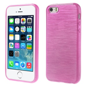 Rose Brushed TPU Protective Case for iPhone 5s 5