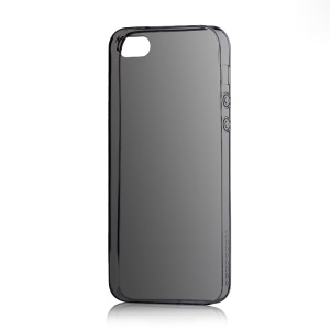 HOCO Light Series for iPhone 5s 5 0.6mm Ultra Slim TPU Gel Case - Black