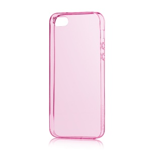 HOCO Light Series for iPhone 5s 5 0.6mm Ultra Slim TPU Gel Cover - Rose