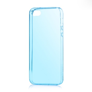 HOCO Light Series for iPhone 5s 5 0.6mm Ultra Slim TPU Jelly Skin - Blue