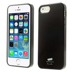 Nevo Glossy TPU Gel Case for iPhone 5s 5 - Black