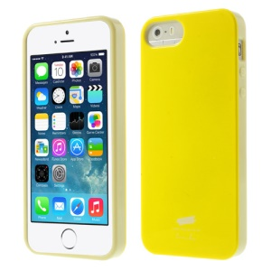 Nevo Glossy TPU Case Accessory for iPhone 5s 5 - Yellow