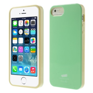 Nevo Glossy TPU Back Case for iPhone 5s 5 - Green
