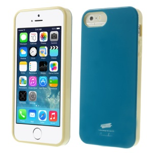 Nevo Glossy TPU Shell Case for iPhone 5s 5 - Blue