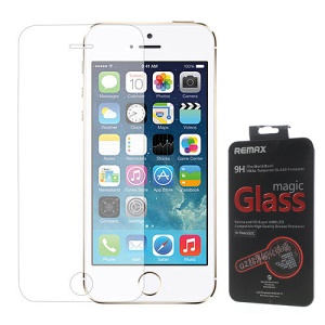 Remax Ultra-thin 0.2mm 9H Tempered Glass Screen Protector for iPhone 5 5s