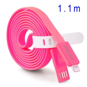 Rose TakeFans Dazzle Color Series II 110cm Lightning 8pin USB Charging Data Cable for iPhone 5c 5s 5 / iPad Air / iPod Touch 5