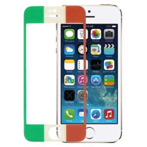 Italian Flag Tempered Glass Screen Protector Guard Film for iPhone 5s 5