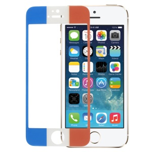 French Flag Tempered Glass Screen Protector Film for iPhone 5s 5
