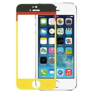 German Flag Tempered Glass Screen Protector Film for iPhone 5s 5
