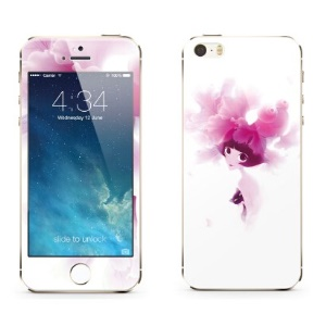 Benks for iPhone 5c 5s 5 Magic OKR+ 0.3mm Shatterproof Glass Screen Protector Front + Back Film - Pretty Miss Puff
