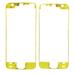 For iPhone 5s Touch Screen Digitizer Frame Replacement - Yellow