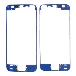 For iPhone 5s Touch Screen Digitizer Frame Replacement - Dark Blue