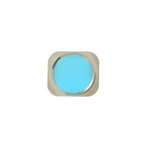 Home Button Key Replacement Part for iPhone 5s - Baby Blue